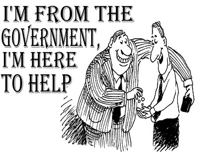 im from the government im here to help