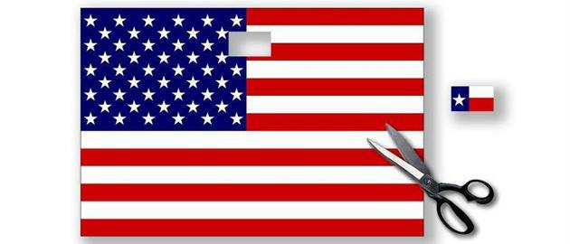 Flag-cutout-Texas-secede