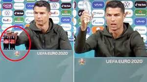Coca-Cola loses $4 billion after Ronaldo drinks water instead
