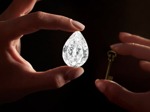 Sotheby's says it'll take crypto for a 101.38-carat diamond valued at $10m-$15m