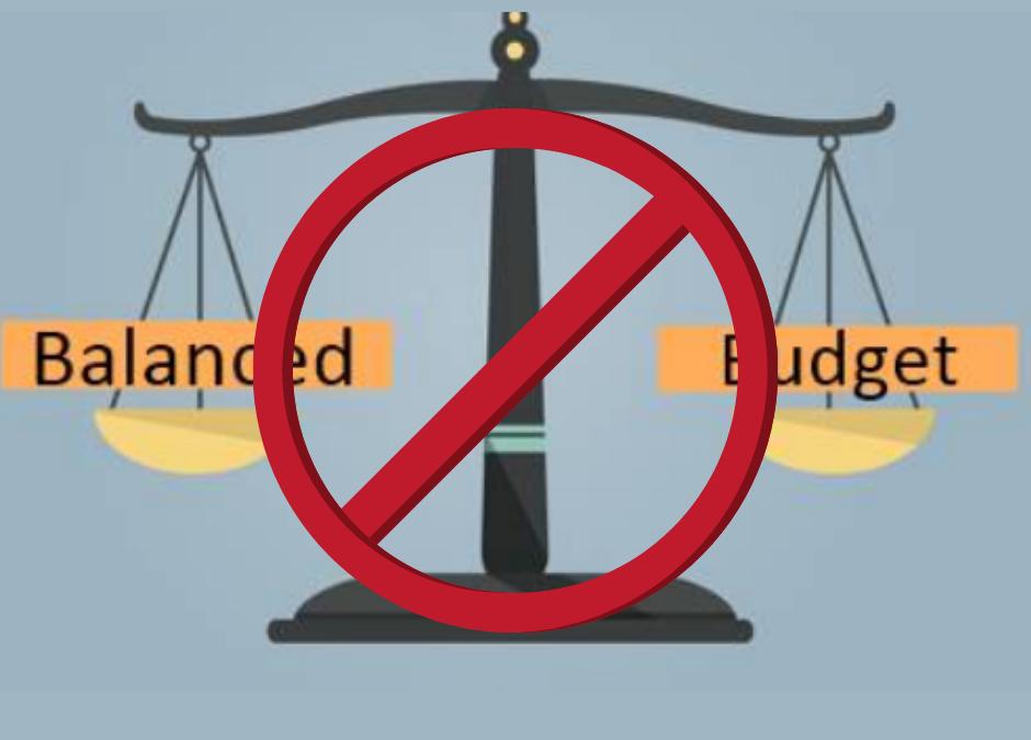 Goodbye to Balanced Budgets